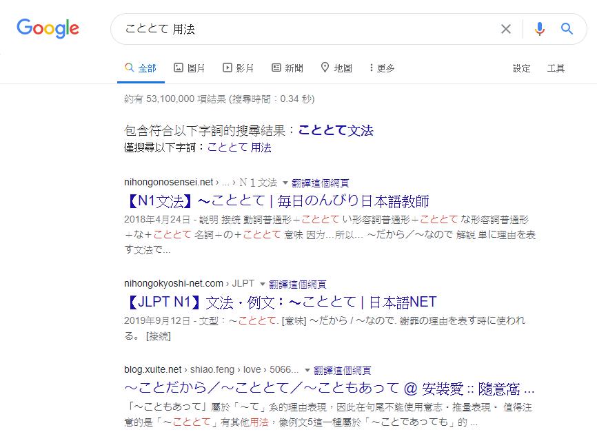 google文法方法