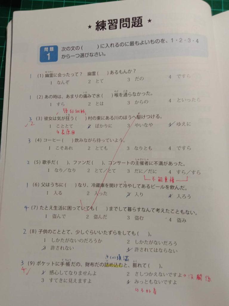 文法怎麼學-做文法練習