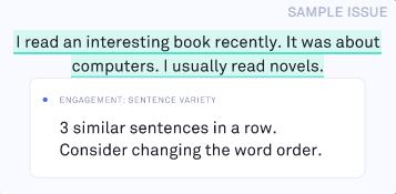 檢查有沒有被重複使用的句型