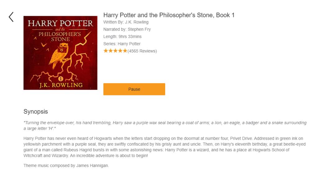 哈利波特有聲書