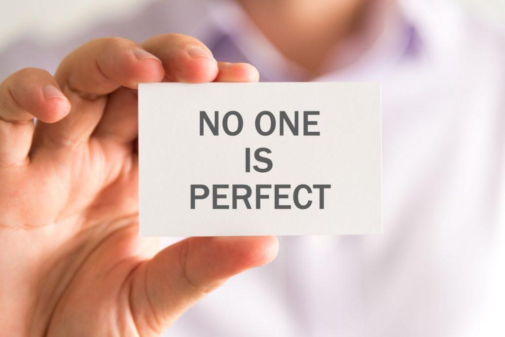 拋開完美主義