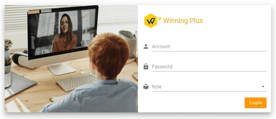Winning+登入畫面